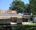 Grote verbouwing riant woonhuis fam. van Enckevort Someren